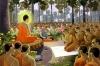 Để đệ tử không tạo nghiệp ác từ lời nói, đức Phật đã chế ra giới thứ 4: cấm nói dối.