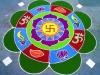 """Chữ """"Vạn"""" trong Phật giáo viết như thế nào?"""
